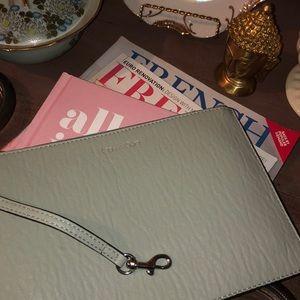 New Calvin Klein purse pouch in mint
